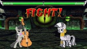 Pony Kombat Tournament Round 3, Battle 2 by Macgrubor