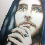 JARED LETO CONCERTPORTRAIT by SUSI-the-FUZZYHEAD