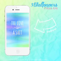 +3 Wallpapers iPhone 4/4s by PilarEditions9