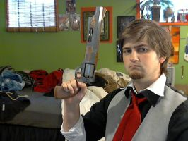 Quick Booker 2 W/ finished Hand Cannon by NerdCarny