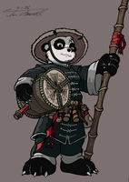 Pan as a Pandaren - No BG by Timothius