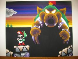 Yoshi's Island Bowser Fight by jg233