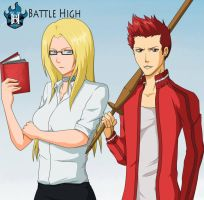 Battle High: -Class is in session- by BrandonCooper
