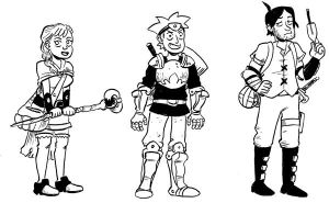 New characters by larsony