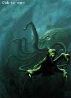 Cthulhu by Acrylicdreams