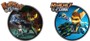 Ratchet and Clank (Old and New) by ETSChannel