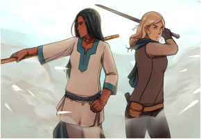 Nehemia and Celaena are awesome by walkingnorth
