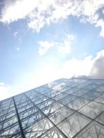 Light Through the Louvre by Lily-Gangsta