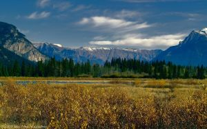 Vermillon Lakes - Banff National Park by AgilePhotography