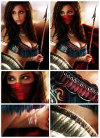 Persian Warrior - Details by Italiener