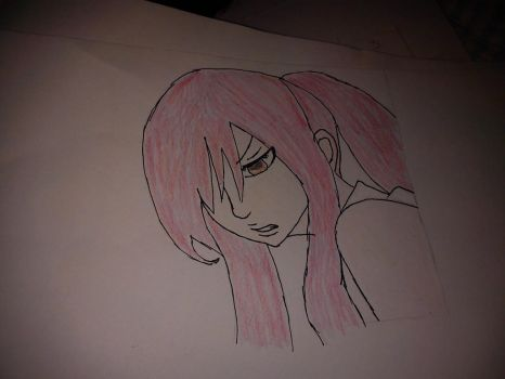 Erza Scarlet - In colors by manganime93
