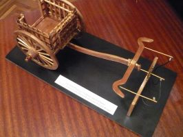 Client Order: Ancient Chinese Chariot by LacheV