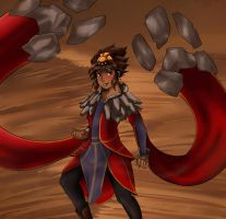Taliyah the Stoneweaver by SkitzOpheliac
