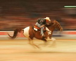 barrel racing by jtpix