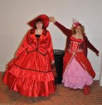 katsucon 2014: Madame Red and Elizabeth by Prepare-Your-Bladder