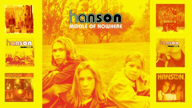 Hanson Album Covers - Wallpaper by holly525