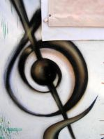 Graffiti - Chios school of Music - Detail 1 by CanteRvaniA