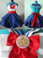 Sailor Moon Cosplay Pinafore by DarlingArmy