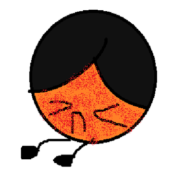 Orange Ball dies because of bees by yinyang-yinyeng