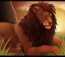 Lion by MapleSpyder