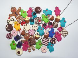 Clay jewelry by Marietjee