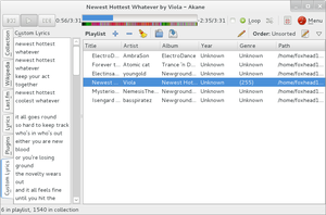 Akane 1.0.15, in action by foxhead128