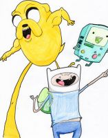 Adventure Time Color Time!! by HurricaneJosh
