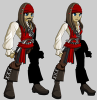 New pirate armor concept by TheCarlosZayas