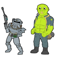 Fallout 3 Team WIP by cookiemunster5050
