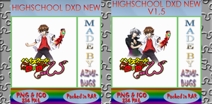 HighSchool DxD New - Anime icon by azmi-bugs