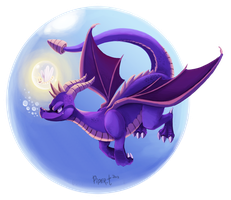 Spyro the Dragon by Cryptid-Creations