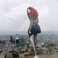Anna steps into London - gift from Danforddan by Amarie-Tinuviel