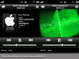 iPhone-Pocket Player + WMP8 by thebigbentley