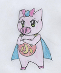 STRONGEST MAGICAL GIRL: PIG GIRL TONDE BUURIN by Sentaifreak