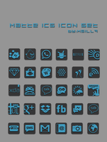 Matte ICS Icon Set by kgill77