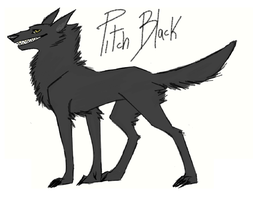 Pitch Black by FourDirtyPaws