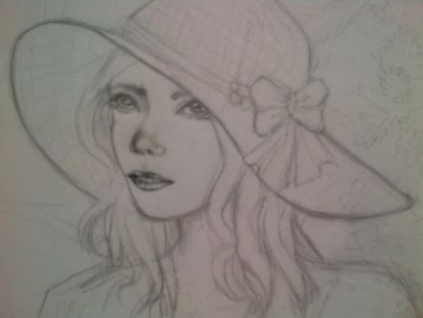 Preview: Flower girl by tabbycat85