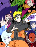 The Legend of Naruto - Colored by nirvanadonut