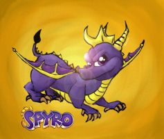 Spyro by Cascading-Dreams