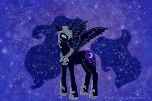 Nightmare Moon by Estell-chan