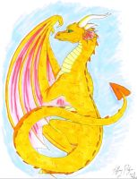 Citrine Dragon by CaptainMorwen