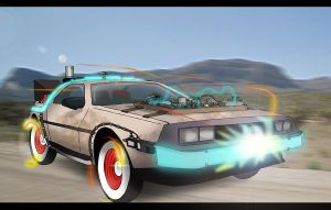 The DeLorean Mk III by Rootay