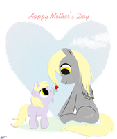 Happy Mother's Day Card by bunnimation
