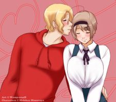 +APH+ You Are My Everything by Wamp-crasH