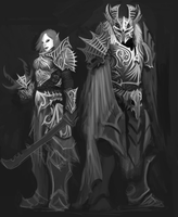 Warriors WIP by UltimaFatalis