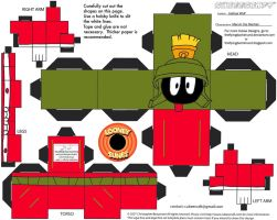 LT6: Marvin the Martian Cubee by TheFlyingDachshund