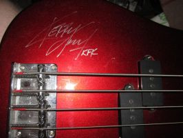 Signed Bass Guitar by eon-krate32