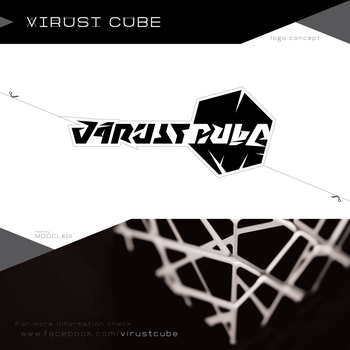 VIRUST CUBE - logo concept by model850