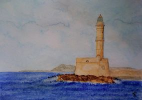 2010.05 - Lighthouse at Creta by kostaskouk