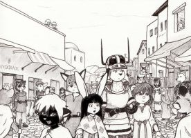 The Market by nyanki